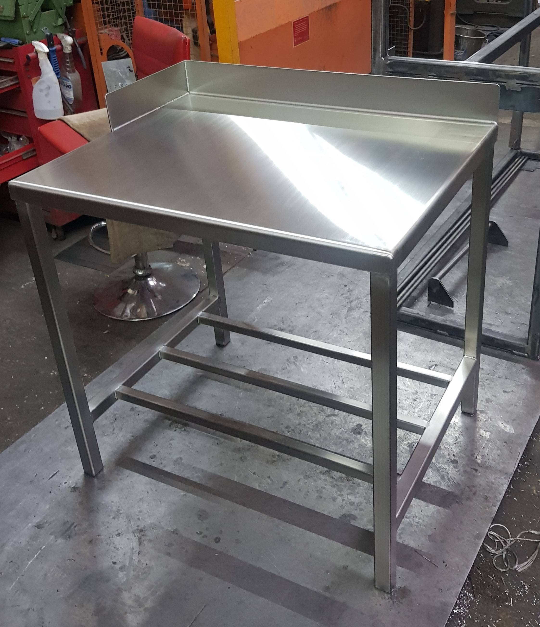 Food Grade Stainless Steel Fabrications
